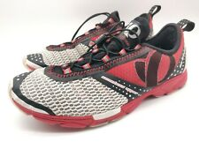 Pearl Izumi Men's Red White Black Running Shoes ISO Transition Size 8.5