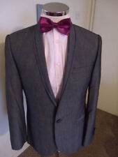 One Button Pinstripe Regular Suits & Tailoring for Men