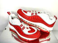 $155 NIB SIZES 4 4.5 5 5.5 6Y YOUTH Nike Air Max 98 GS Kids Boys Girls Shoes Red