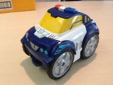 HASBRO Transformer Police CAR Bot Flip Changer Toy