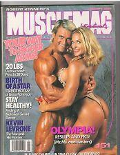 MUSCLEMAG bodybuilding mag/TOM PLATZ & American Gladiator/Charles Atlas1-95 #151