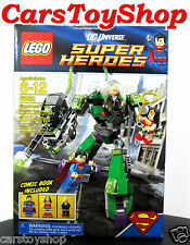Superman vs Power Armor Lex Lego Super Heroes Wonder Woman Minifigure 6862