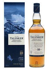 Talisker 10 Jahre, Isle of Skye, Single Malt Whisky, 0,2 l.