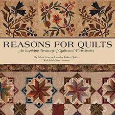 REASONS FOR QUILTS Family Treasury Hidden Life Stories NEW BOOK + 9 Patterns CD