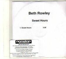 (DR928) Beth Rowley, Sweet Hours - 2008 DJ CD