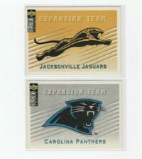 (LOT OF 2) 1994 COLLECTOR'S CHOICE EXPANSION TEAM (PANTHER #379/JAGUARS #380) NM