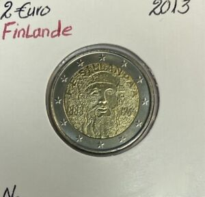 Finlande - 2 Euro 2013 - Frans Emil Sillanpää
