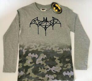 Batman Kinder Jungen Langarmshirt Longleeves T-Shirt Gr. 134/ 140