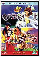 Cinderella/The Hunchback Of Notre Dame (DVD, 2008)