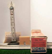 Lionel No. 199 Microwave Relay Tower in Original Box with Liner & Instructions