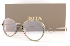 Brand New DITA Eyeglass Frames Haliod DTX100-48-01 Antique Silver/Antique Gold