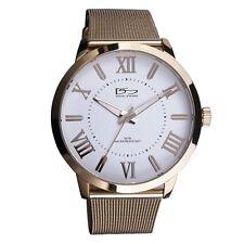 Daniel Steiger Lexington 18k Gold Fused Luxury Dress Watch With Warranty