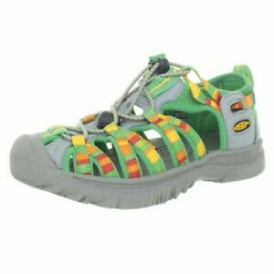 KEEN Whisper Raya Greenbriar Boys Toddler Size 10M Green Sandals Little Kids
