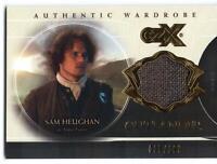 Outlander CZX (2019) WARDROBE Trading Card W2 / Sam Heughan as JAMIE - 035/199