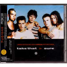 MAXI CD Robbie WILLIAMS Take That Sure 4-tr JAPAN ☆ NEW