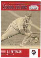 2015 Panini Contenders Baseball Old School Colors #25 D.J. Peterson