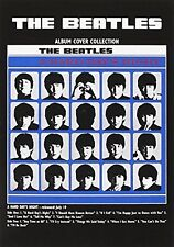 The Beatles A Hard Day's Night Album Cover Postcard Gift Official Merchandise