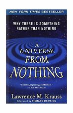 A Universe from Nothing: Why There Is Something Rather than Not... Free Shipping