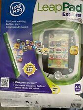 LeapFrog LeapPad explorer with camera Learning Toys Activity. Open box !