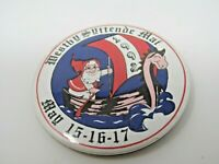 Syttende Mai Pin Button Westby Wisconsin 1992 Norwegian Constitution Day
