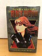 Black Widow Marvel Bowen Mini Bust 3775/5000
