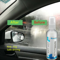 Car Glass Window Windscreen Anti-Fog Mist Defogging Spray Wipe Off Cleaner