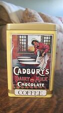 CADBURY COFFEE, BISCUITS, CHOCOLATE TIN WITH LID