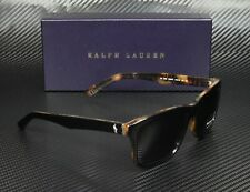 RALPH LAUREN POLO PH4098 526087 Black Jerry Tortoise Gray 57 mm Men's Sunglasses