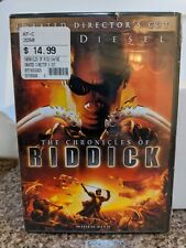 Chronicles of Riddick Dvd 2004 Unrated Directors Cut - Widescreen New Sealed *J