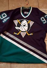 Mighty Ducks of Anaheim 93-94 Original Pro CCM Jersey Size 48 with fight strap