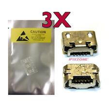 3 X New Micro USB Charging Sync Port Charger For MOTOROLA DROID RAZR V XT886 USA