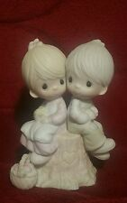 """Vintage Precious Moments """"Love One Another"""""""