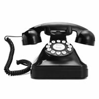 New Retro Phone Wired Corded Telephone Vintage 1940s Western Rotary telephone