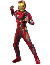 "Iron Man Kids Dlx Muscle Chest Costume,Medium,Age 5 - 7 yrs,HEIGHT 4' 2"" - 4' 6"""