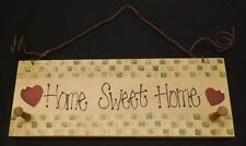 """""""Home Sweet Home"""" - Hand Painted Wood Sign with country theme"""