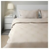 Warm 100% Cotton Queen quilt cover and 4 pillowcases Bedding Breathable ikea