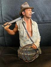 Vintage buste Indiana Jones Temple of Doom Gentle Giant Studios certificat 2009
