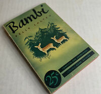 BAMBI Complete & unabridged Pocket Books Edition  (1st /4th Printing) Sept.1939