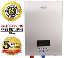 Electric Tankless Instant On-Demand Hot Water Heater 5 GPM Marey NEW