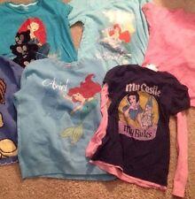 Girls size 10 Disney Store shirts Snow White, Ariel, Merida, Tinkerbell