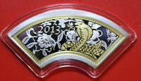 """Cook Islands 1 Dollar 2013 Silber PP-Proof #F3919 """"Year of the Snake"""" Coloured"""