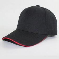 New 2017 Men Women Black Baseball Cap Snapback Hat Hip-Hop Adjustable Bboy Caps