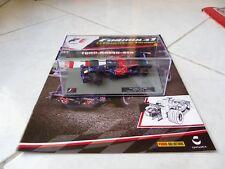 Toro Rosso STR3 Sebastian Vettel #15 Ixo Panini 1/43 2008 F1 avec fascicule