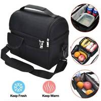 Insulated Lunch Box for Women Men Thermal Cooler Tote Food Lunch Storage Bag US