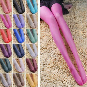 Hot Lady SUMMER Fashion Women SHEER transparent Tights Pantyhose Color Stockings