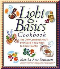 Light Basics Cookbook: The Only Cookbook You'll Ever Need If You Want -ExLibrary