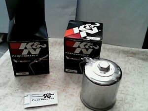 2 FILTRES A HUILE MOTO KN - 303C (NEUFS)