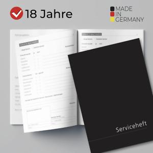 10x Edles Serviceheft Wartungsheft Scheckheft ✓ universal & NEU ✓ VORTEILSPACK