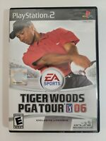 Tiger Woods PGA Tour 06 (Sony PlayStation 2, 2005) Complete