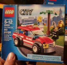 LEGO City Fire Chief Car 60001 New in Box